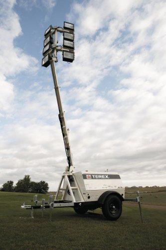 Terex Al5 Ht Heavy Duty Portable Light Tower 20kw