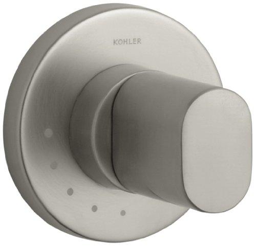 KOHLER K-T10067-9-BN Oblo Volume Control Valve Trim, Valve not Included, Vibrant Brushed Nickel