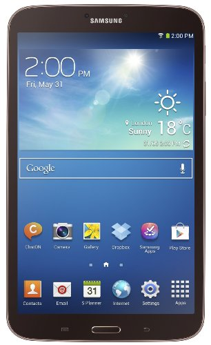 Samsung Galaxy Tab 3 (8-Inch, Gold-Brown) 2013 Model by Samsung