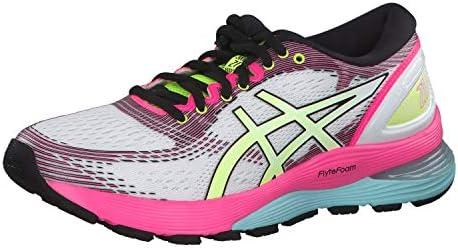 Asics Gel-Nimbus 21 Sp - Zapatillas de running para mujer, color blanco, color, talla 44 EU: Amazon.es: Deportes y aire libre