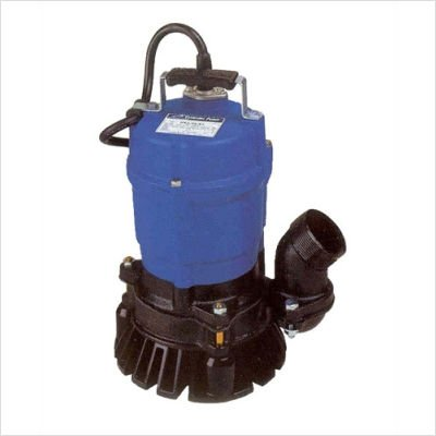 Tsurumi HSZ2.4S; Float Operated semi-Vortex Submersible Trash Pump w/Agitator, 1/2hp, 115V, 2