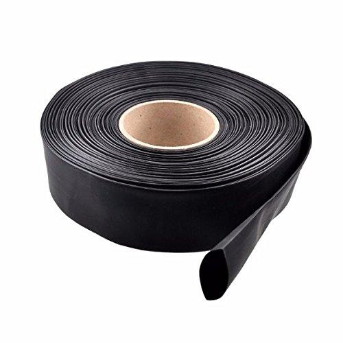 LaDicha 1M Pvc Thermor/étractable Tube Noir 30//40//46//50//60//70//86Mm Wide Pour Batterie Lipo 30Mm