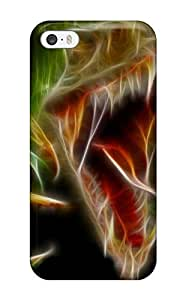 New Style CaseyKBrown Dinosaur Premium Tpu Cover Case For Iphone 5/5s