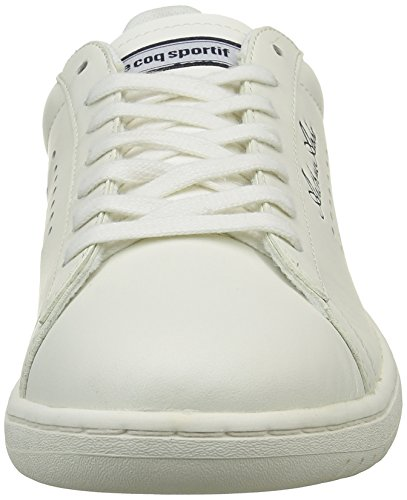 Le Coq Sportif Arthur Ashe Geo, Zapatillas para Mujer Blanco (Marshmallow/TitaniumMarshmallow/Titanium)