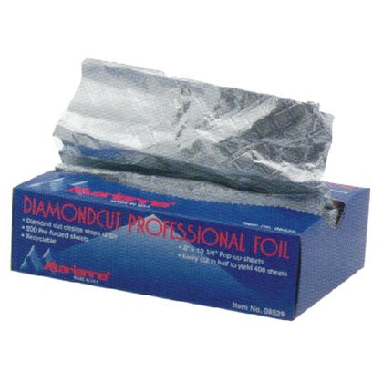 Diamondcut Professional Foil * 200 Pre-folded Sheets by Marianna