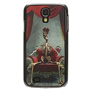 LZX King Skull 3D Changing Pattern Protective Plastic Hard Back Case Cover for Samsung Galaxy S4 I9500