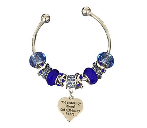 Best Friends Bracelets- Not Sisters By Blood But Sisters ...