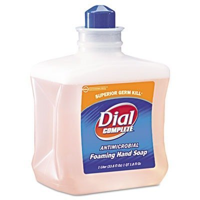 Dial Complete ''Antimicrobial Foam Hand Soap, 1000mL Refill, 6/Carton'' Unit of measure: CT, Manufacturer Part Number: DIA 00162 by DIAL PROFESSIONAL
