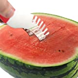Watermelon Slicer Knife - Slice, Core and Serve Effortlessly with Our Ultra Sharp Stainless Steel Blades - Ideal Stocking Filler Gift for Mum