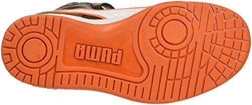 Puma Zapatillas Puma Rebound Street Wcamo Jr Burnt Olive/Forest Night/Bianco/Vermillion Arancione