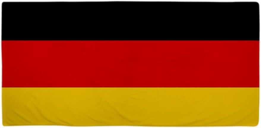 CafePress de la bandera de Alemania – Toalla de playa blanco estándar: Amazon.es: Hogar