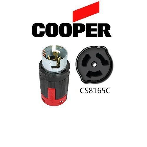 CS8165C 50A Locking Plug, 480V, 3P/4W - Cooper # CS8165C