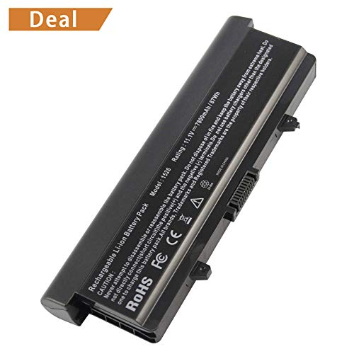 Fancy Buying High Capacity Laptop Battery [9-Cell / 7800mAh/87Wh] for Dell Inspiron 1525 1526 PP29L PP41L; Fits GW240 X284G RN873 M911 M911G GP952