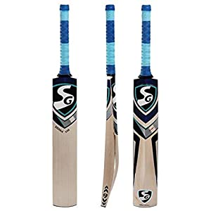 SG Sierra 350 Grade 3 English Willow Cricket Bat ( Size: Short Handle,Leather Ball )