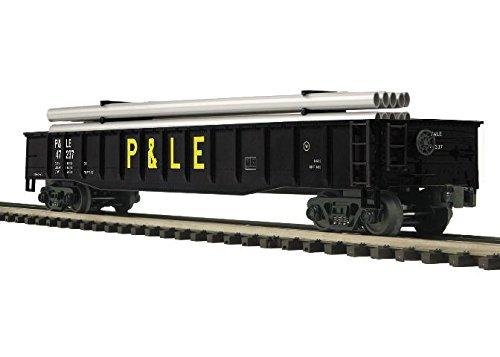 MTH TRAINS; MIKES TRAIN HOUSE P&LE Gondola W/Pipe Load