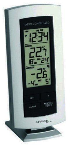 Wetterstation WS 9140-IT mit Funkuhr und Innen- und Außentemperaturanzeige