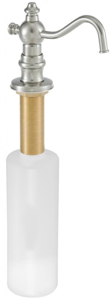 DMH DMH2176-26 Victorian Soap/Lotion Dispenser, Polished Chrome