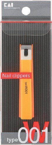 Kai 000KE0109 Nail Clipper, Orange, W001 by Kai