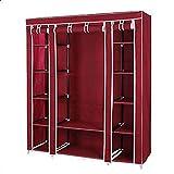 خزانة ، قماش - لون احمر