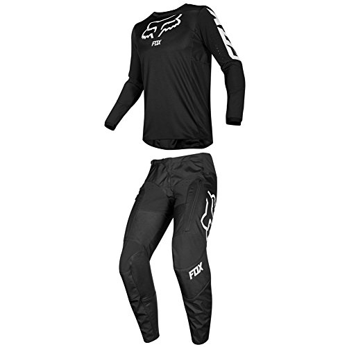 Fox Racing 2019 LEGION LT Jersey and Pants Combo Offroad Gear Adult Mens Black Large Jersey/Pants 34W