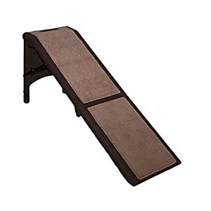 Pet Gear Free Standing Pet Ramp for Cats and Dogs Up to 200-Pound, Chocolate