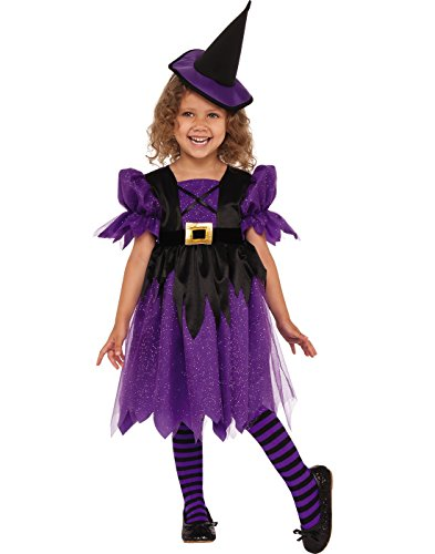 Rubies Costume Sweet Witch Child Costume, X-Small, Multicolor by Rubies Costume (Image #1)