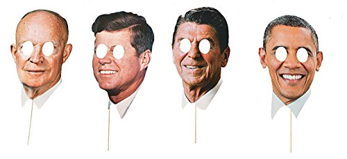 Modern Day Presidents Masks 4 Pack]()