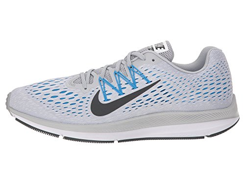 Chaussures 003 NIKE Anthracite Platinum Zoom Winflo Running Compétition Homme 5 Grey Wolf Multicolore Pure de qt16Otn