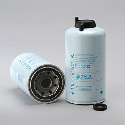 amazon com donaldson p553203 fuel filter (water separator, spin onimage unavailable image not available for color donaldson p553203 fuel filter