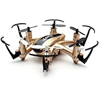 Tsanglight Mini RC Drone 2.4G 6 Axis Gyro 4CH Pocket Quadcopter UAV Good Choice for Beginner - Gold