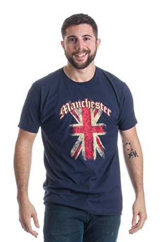 Manchester, UK | United Kingdom Union Jack English Pride Unisex T-shirt