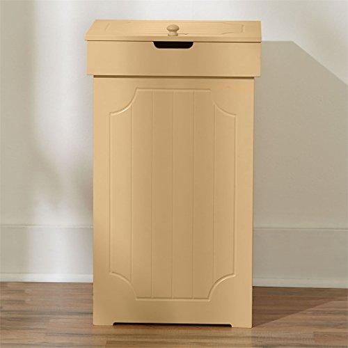 Brylanehome Country Kitchen Trash Bin (Yellow,0)