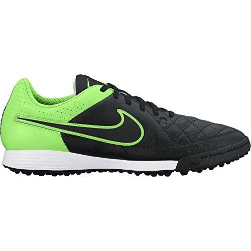 Nike Tiempo Genio Leather TF Herren Fußballschuhe DARK GREY/WOLF GREY-WHITE