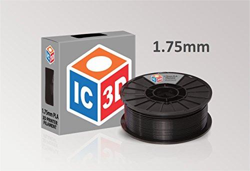 IC3D Black 1 75mm Printer Filament product image
