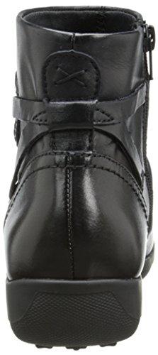 Black Cradles Boot Zinc Walking Leather Women's B7qYnw1