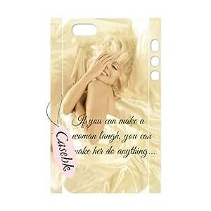 Casehk Cheap Durable Case Cover for iPhone 5,5G,5S, Hot Sale monroe iPhone 5,5G,5S 3D Case, monroe DIY Shell Phone Case