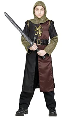 Fun World - Valiant Knight Child Costume