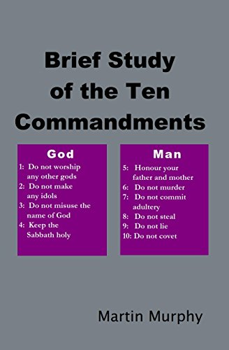Brief Study of the Ten Commandments