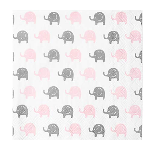 Crisky Baby Shower Dessert Beverage Napkins 100 Pack