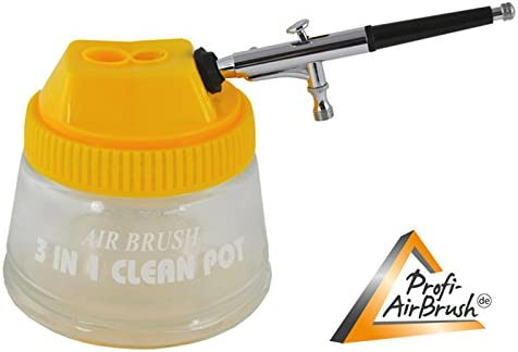 Professional Airbrush Set with Airbrush Compressor Airbrush Colours Compact II Tattoo and Colour Set//Ideal Airbrush Kit for Beginners and Advanced Airbrush.