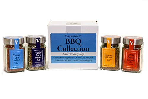 BBQ Collection - 4 rubs for grilling and BBQ.