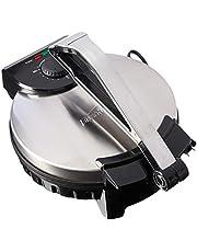 Brentwood TS-128 Electric Tortilla Press Silver