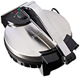 "Brentwood 10"" Electric Tortilla Press - Perfectly Round Homemade Tortillas & Flatbread"