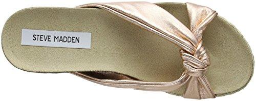 Steve Madden Danea Slipper - Zapatilla baja Mujer Gold (Rose Gold)