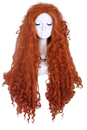 Merida Costume Wig