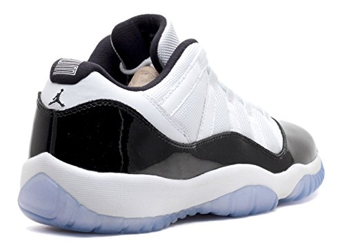 Nike Air Jordan 11 Retro Low Bg, Zapatillas de Baloncesto para Niños white, black-dark concord
