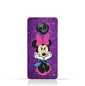Motorola Moto X4 TPU Silicone Case with Minnie Mouse Smile Design