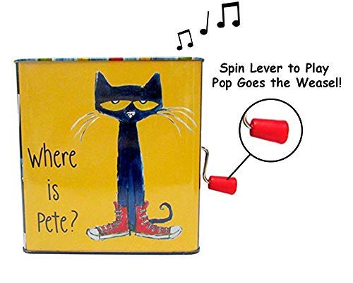 Musical Toy for Babies Pete The Cat Jack-in-The-Box