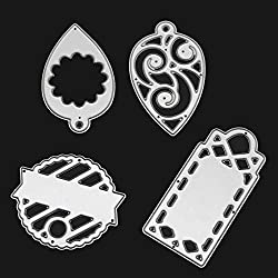 FORUU Die Cut, Metal Cutting Dies Stencils Scrapbooking Embossing Mould Templates Handicrafts DIY Card Making Paper Cards Best Gift Merry Christmas Crafts G