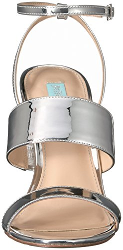 Sandal Sb by Silver Betsey Dress Women's Foil Johnson Blue Jenna 6qWRF4aW